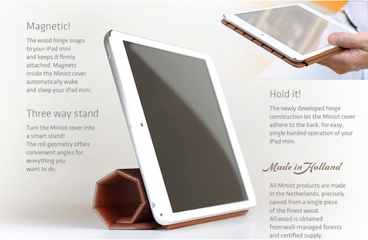 iWood Smart Cover for iPad