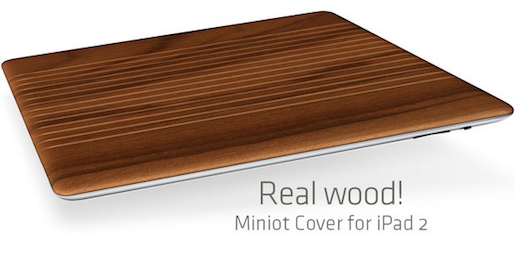 iWood Smart Cover for iPad 2