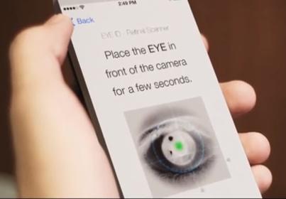 Концепция iPhone 6: EYE ID