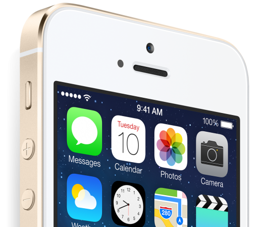 iPhone 5s retina display