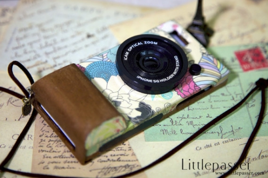 Фото-чехол для IPhone Vintage by wood