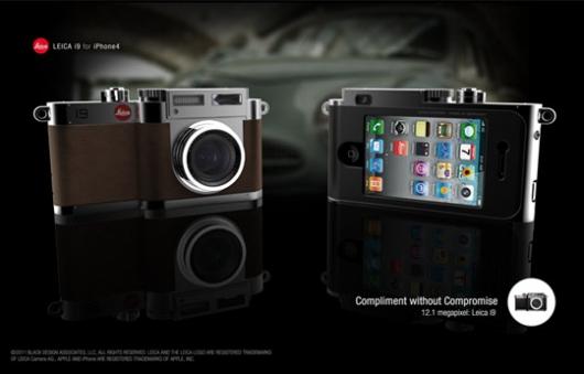 Фото-чехол для IPhone Leica i9