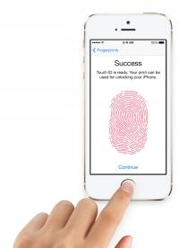 Биометрический замок на iPhone 5s