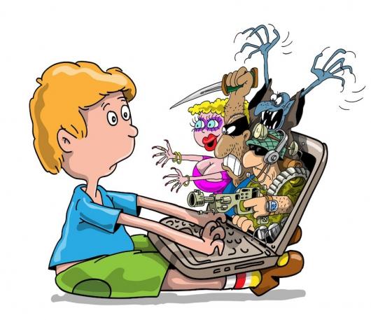 Безопасность ребенка в сети и на улице