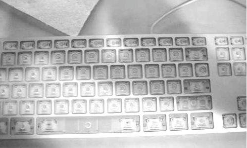 apple-keyboard-clean