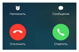 Прием звонков