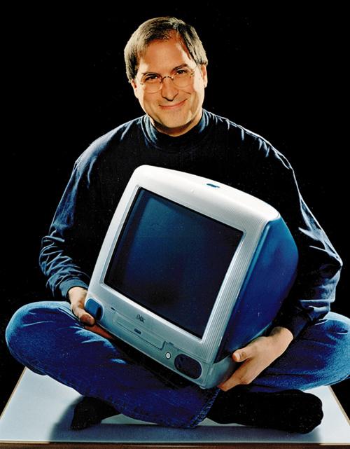 Первый iMac и Стив Джобс