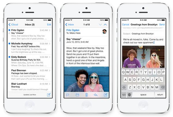 Интернет и iCloude на iOS7