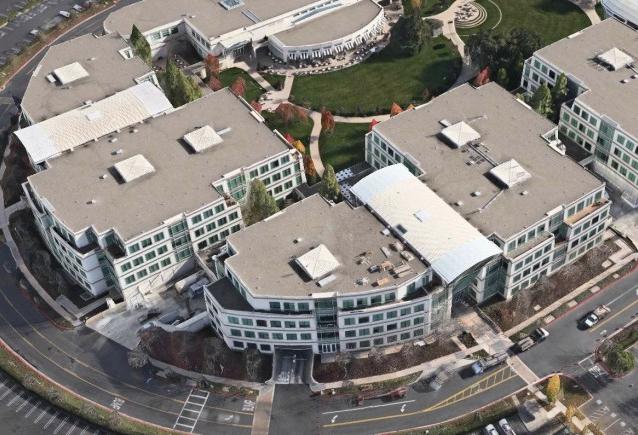 Apple's Cupertino HQ