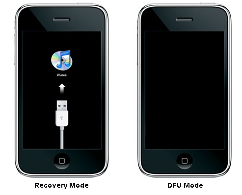 Как сделать dfu режим iphone