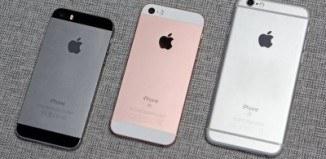 Сравнение отличий iPhone SE против iPhone 6S и iPhone 5S