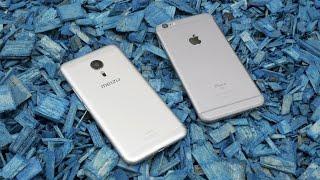 Сравнение характеристик iPhone 6S и Meizu Pro 6