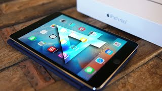 Обзор характеристик iPad Mini 4